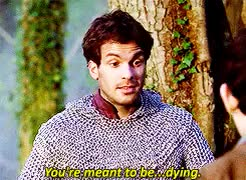Watch and share Merlin X Lancelot GIFs and Santiago Cabrera GIFs on Gfycat