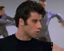 Watch are you dreaming? GIF on Gfycat. Discover more danny zuko, grease, john travolta, my gifs, olivia newton john GIFs on Gfycat