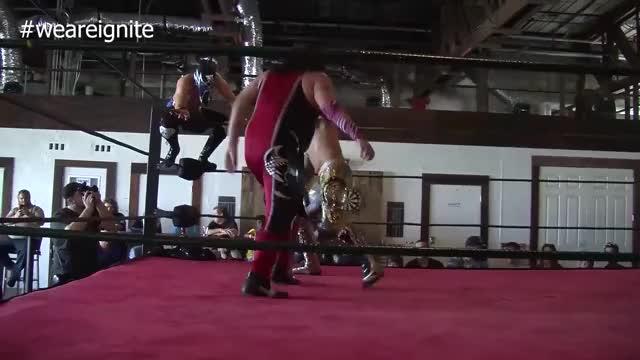 Watch Exchange GIF by Blaze Inferno (@metaknightxprophets) on Gfycat. Discover more Alex Cruz, Entertainment, IGNITE Wrestling, Ricardo Rodriguez GIFs on Gfycat