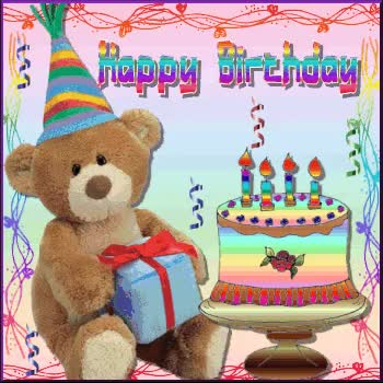 Watch and share Happy Birthday Teddy Bears GIFs on Gfycat