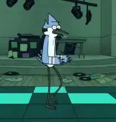 Watch Robot Dance • r/regularshow GIF on Gfycat. Discover more related GIFs on Gfycat