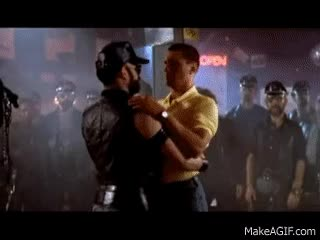 """Watch POLICE ACADEMY (1984) THE BLUE OYSTER """"SALAD"""" BAR GIF on Gfycat. Discover more related GIFs on Gfycat"""