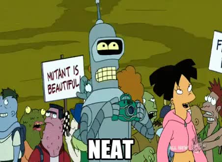 Watch and share Futurama GIFs and Neat GIFs on Gfycat