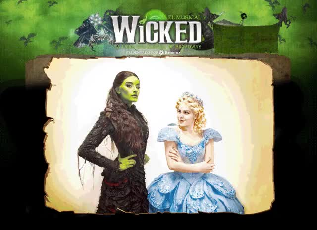 Watch and share Elphaba GIFs and Glinda GIFs on Gfycat