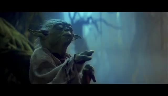 Watch and share The Empire Strikes Back GIFs and Yoda GIFs on Gfycat