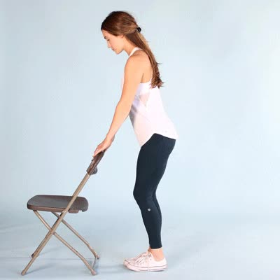 Watch and share 400x400 Osteoarthritis Hip Exercises Hip Extension GIFs by Healthline on Gfycat