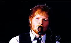 Watch and share Teddy Sheeran GIFs and 2015 Grammys GIFs on Gfycat