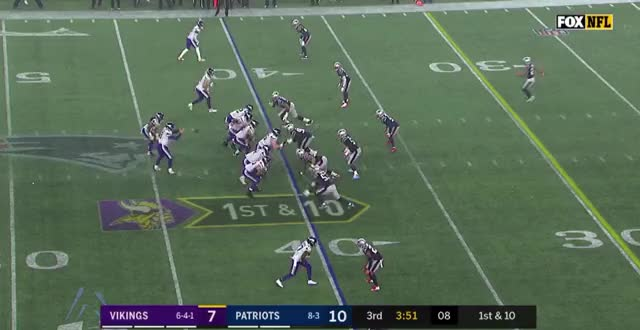 Watch Week 13--Dalvin Cook Cutback GIF by Matt Weston (@mbw987) on Gfycat. Discover more Minnesota Vikings, New England Patriots, football GIFs on Gfycat