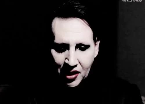 Watch and share The Pale Emperor GIFs and Marilyn Manson GIFs on Gfycat