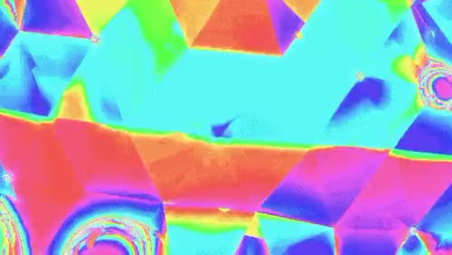 Watch prosthetic knowledge GIF on Gfycat. Discover more 3D, VJ, art, gradient, net art, polygon, spectrum, tech GIFs on Gfycat