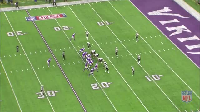 Watch and share Diggs TD Saints 2017 GIFs by whirledworld on Gfycat
