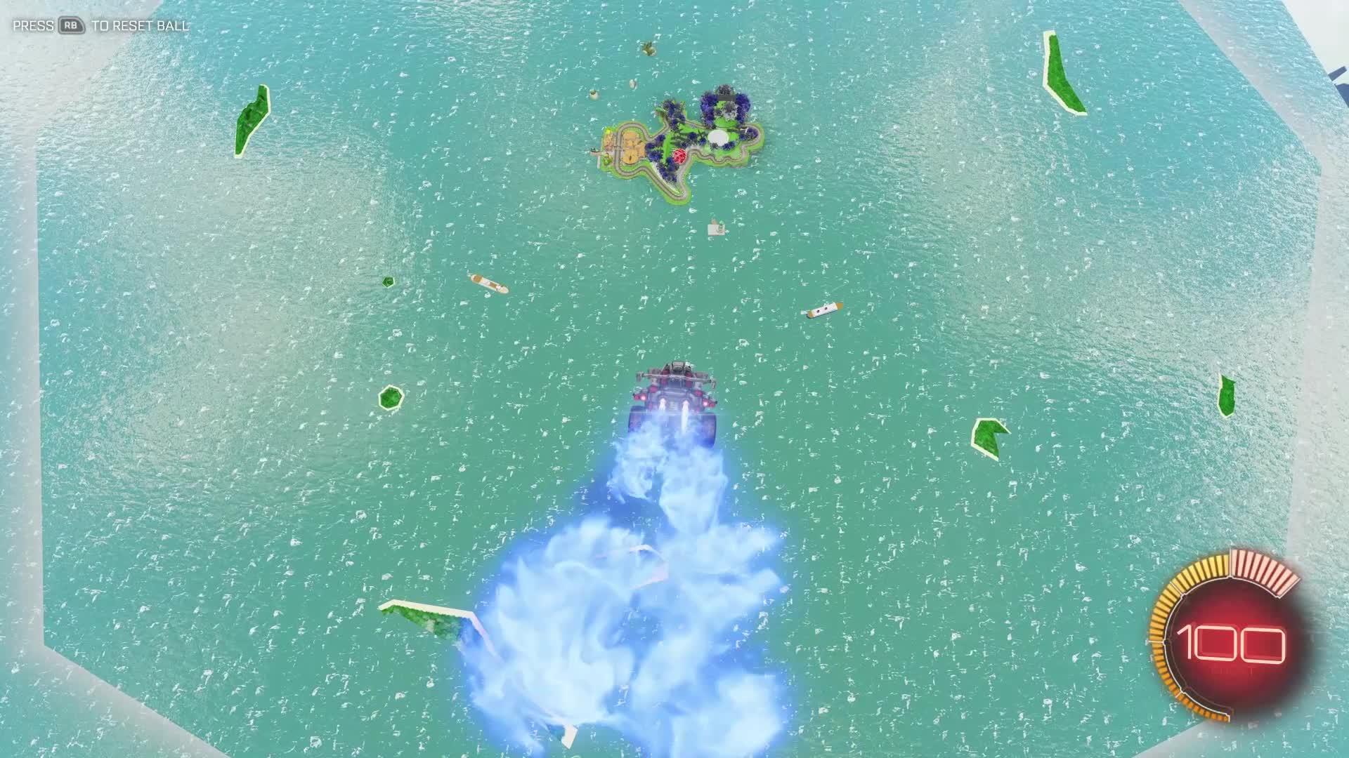 Yoshi Circuit in Rocket League GIFs