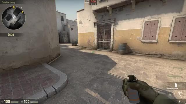 Watch and share [CS] Dust2 Mid Box Smoke GIFs on Gfycat