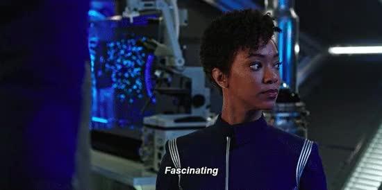 Watch and share Star Trek Discovery GIFs and Michael Burnham GIFs by Star Trek gifs on Gfycat