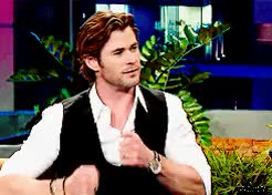 Watch and share Chris Hemsworth GIFs and Mine GIFs on Gfycat