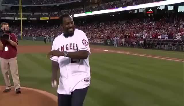 Watch and share Vlad Guerrero GIFs and Don Baylor GIFs on Gfycat