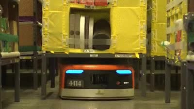 Watch Amazon warehouse robots GIF on Gfycat. Discover more related GIFs on Gfycat