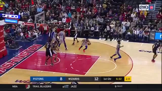 Watch and share Washington Wizards GIFs and Detroit Pistons GIFs on Gfycat