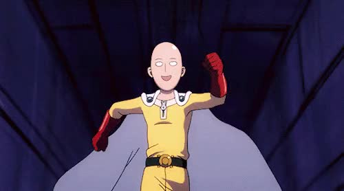 Watch this trending GIF by Reaction GIFs (@sypher0115) on Gfycat. Discover more One Punch Man GIFs on Gfycat
