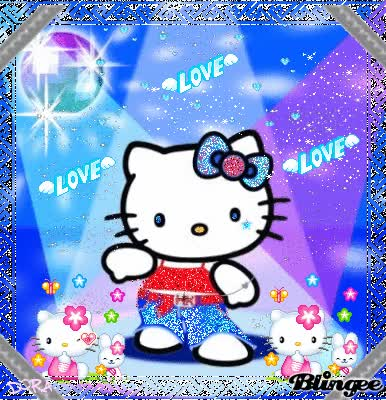 Watch and share Hello Kitty Love..!! GIFs on Gfycat