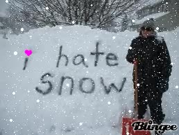 Watch and share I Hate Snow GIFs on Gfycat