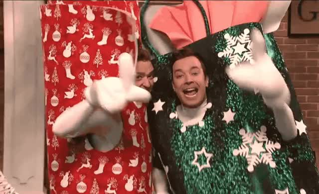 Watch this boxing day GIF by ioanna on Gfycat. Discover more bags, bro, cold, fallon, funny, gift, jimmy, justin, justin timberlake, live, night, open, saturday, scream, snl, timberlake, wrap, wrappville, yell GIFs on Gfycat