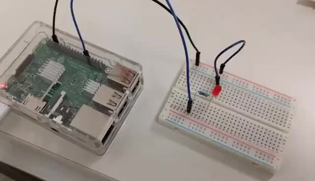 Android Things on Raspberry Pi3 GIF | Find, Make & Share Gfycat GIFs
