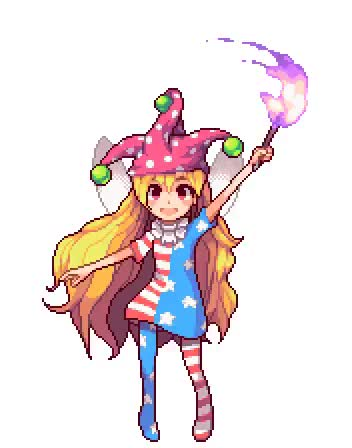 Watch and share Clownpiece GIFs and Waving GIFs on Gfycat