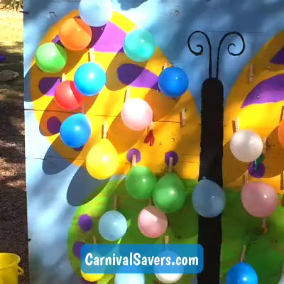 Watch and share Balloon Game GIFs and Carnival GIFs by Carnival Savers on Gfycat