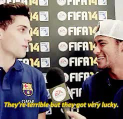 Watch and share This Was Cute GIFs and Fc Barcelona GIFs on Gfycat