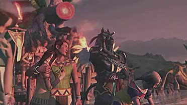 Watch FantasyRandomness GIF on Gfycat. Discover more FF10, FF10 HD Remaster, FFX, FFX HD Remaster, Final Fantasy X, Final Fantasy X HD Remaster, Kilika Island, Kimahri, Lulu, The Sending, Tidus, Yuna, lightsan's edits, lightsan's gifs GIFs on Gfycat