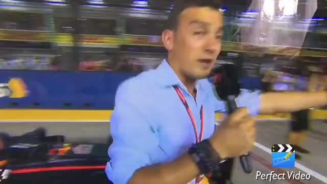 Watch Max Verstappen Nip Grips Will Buxton! [Singapore 2017]  C4F1 Presenter! [HD] GIF on Gfycat. Discover more 2017, C4f1, Daniel ricciardo, F1, Highlights, Lewis Hamilton, Max verstappen, Nip grip, Qualifying, Singapore, Valterri bottas, Will Buxton GIFs on Gfycat