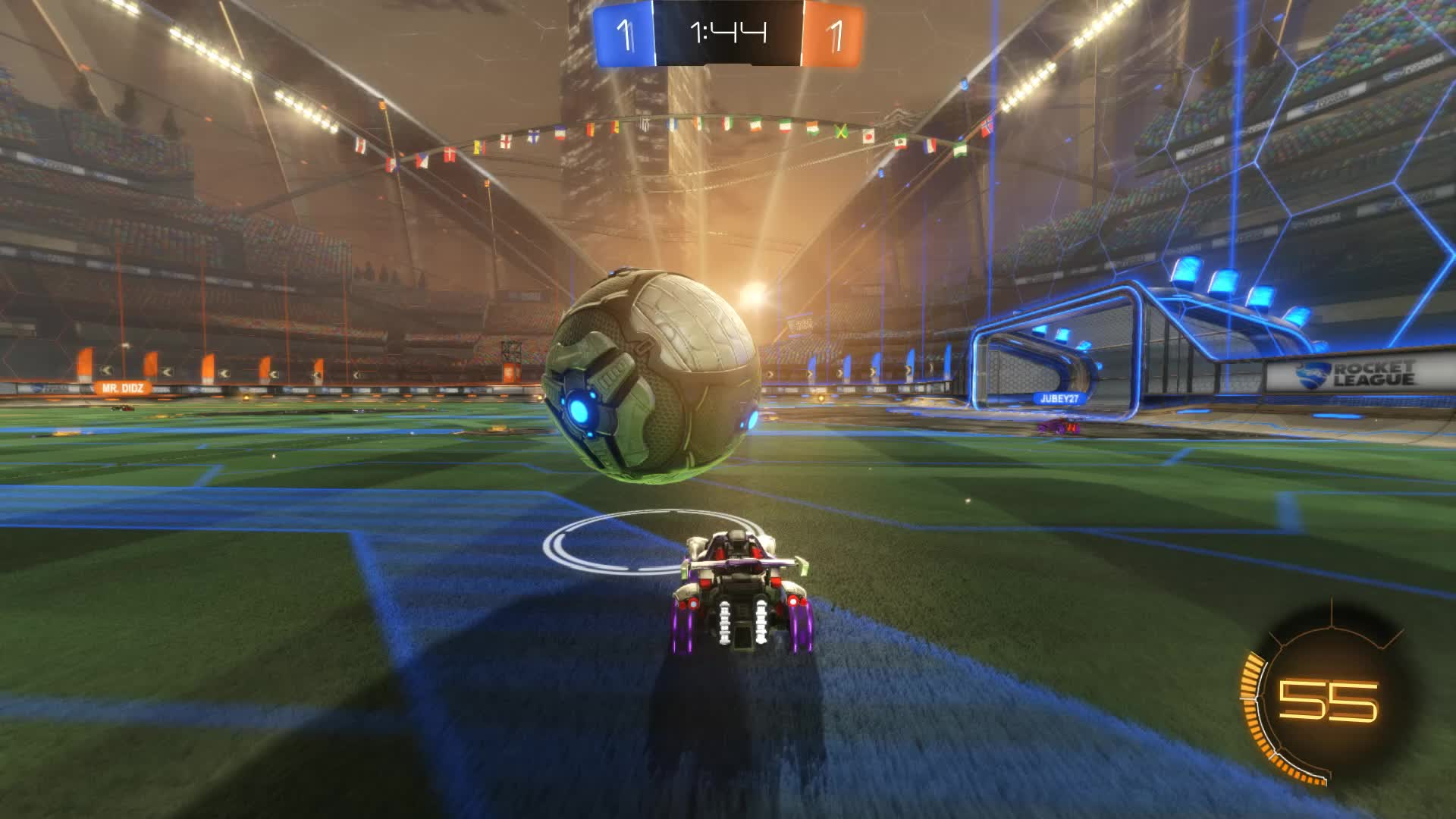 Gif Your Game, GifYourGame, Goal, Rocket League, RocketLeague, ScriptedFlick, Goal 3: ScriptedFlick GIFs