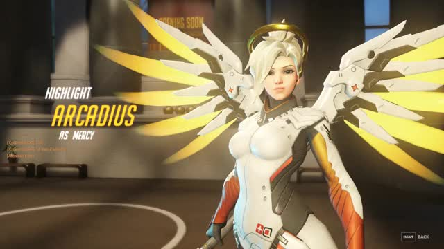 Watch and share Overwatch GIFs and Mercy GIFs by 339683032 on Gfycat