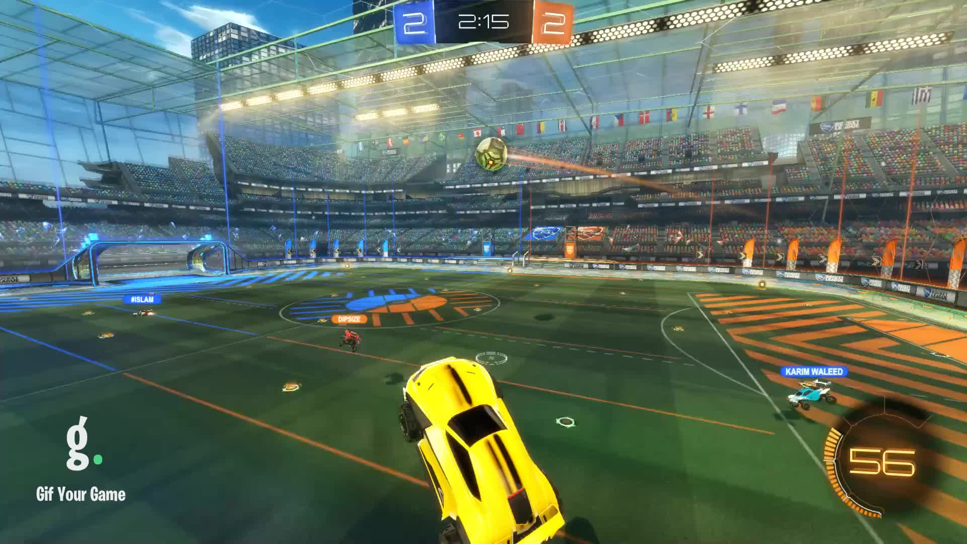 Gif Your Game, GifYourGame, Goal, King Salmonella {[Bean]}, Rocket League, RocketLeague, Goal 5: Baron Berry GIFs