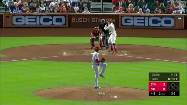 Watch and share Cincinnati Reds GIFs and Baseball GIFs by Jacob Hosteter on Gfycat