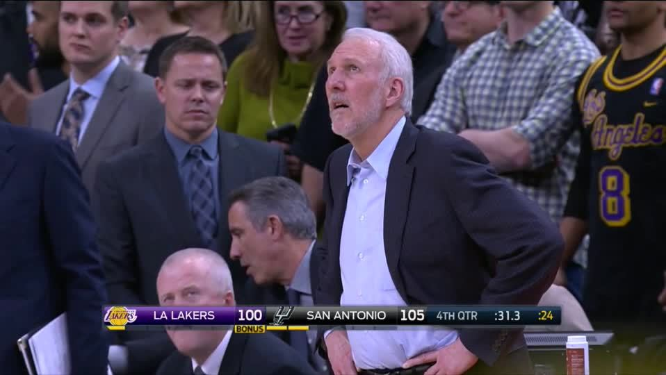 Pop, Spurs, nbaspurs, What a Bullshit call GIFs