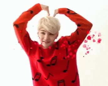 Watch and share Suga Heart GIFs on Gfycat