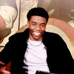 Watch and share Chadwick Boseman GIFs and Laughing GIFs on Gfycat