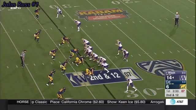 Watch and share UW WR #1 Vs Cal 2016 GIFs on Gfycat