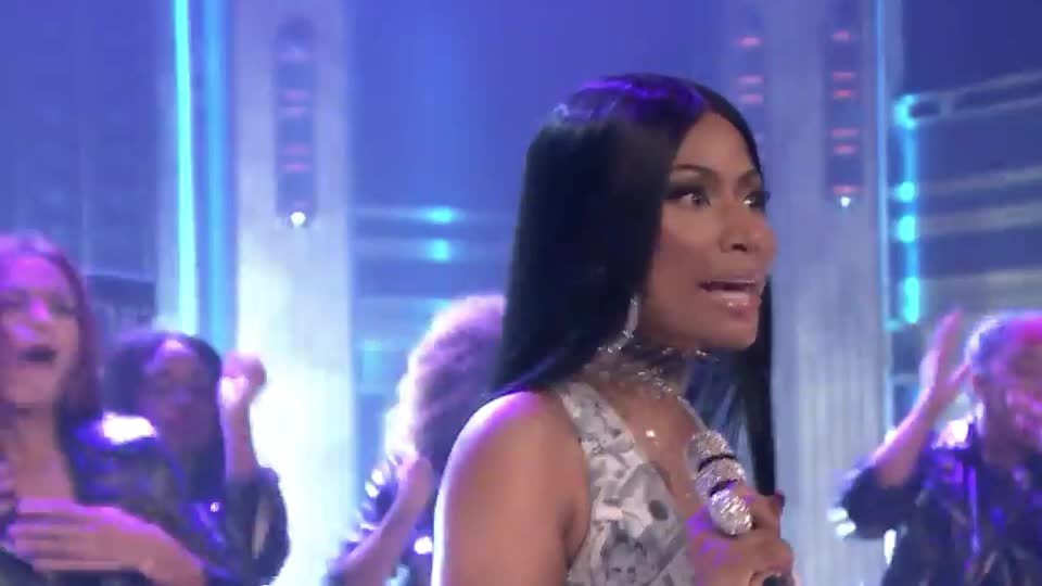flirt, flirty, ft, god, gotti, it, minaj, my, nicki, oh, omg, rake, sexy, show, sing, tonight, up, wink, yo, Yo Gotti ft. Nicki Minaj: Rake It Up GIFs