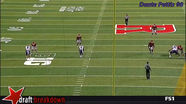 Watch and share Dante Pettis Vs. Rutgers (2017) GIFs on Gfycat