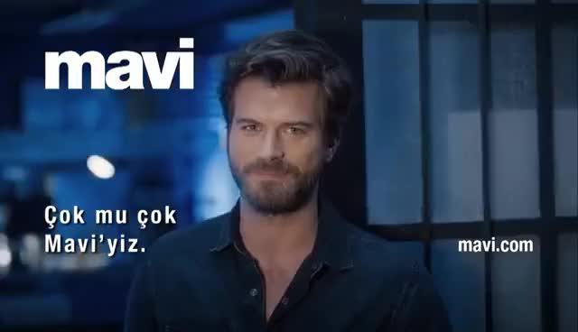 Watch and share Mavi – Kıvanç Tatlıtuğ – Çok Mu Çok Mavi'yiz GIFs on Gfycat