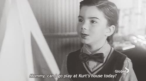 Watch and share AU!Klaine? In Which Kurt And Blaine Were Childhood Friends. GIFs on Gfycat
