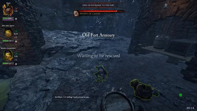 Watch and share Markus Kruber GIFs and Vermintide 2 GIFs by Bryan Tai on Gfycat