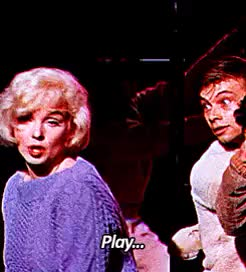 Watch vauguely discontented GIF on Gfycat. Discover more 1960s, gif, let's make love, marilyn monroe, old hollywood, same tbh GIFs on Gfycat