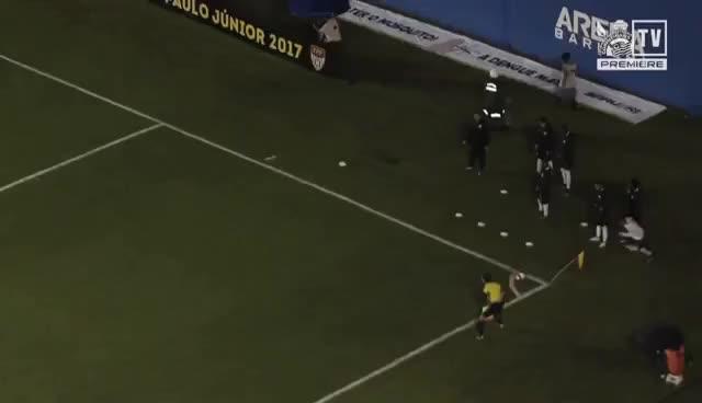 Watch and share Gols   Corinthians 2x1 Flamengo   Copinha GIFs on Gfycat