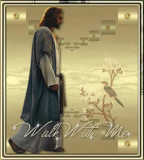 Watch and share Jesus Walks GIFs on Gfycat