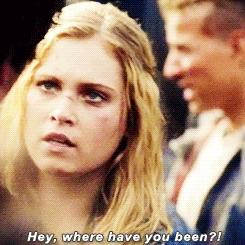 2x07, 2x12, bellarke, bellarkeanonymous, bellarkeedit, gifs, gifs: bellarke, parallels, rita, season 2, the100daily, the100edit, uhm married, the princess & the rebel GIFs