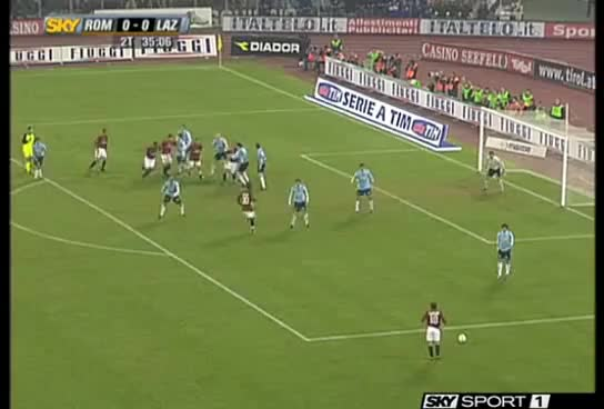 Watch and share Roma-Lazio Tacco Di Mancini Commento Fabio Caressa A Sky GIFs on Gfycat